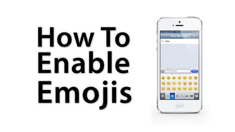 iphone how to ios 6 ios 5 how to enable emoji keyboard iphone 5