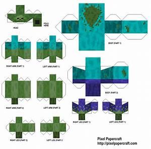 Papercraft Minecraft Mutant Zombie Pigman | www.pixshark ...