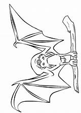 Bat Coloring Pages Print Coloring2print sketch template