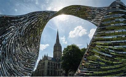 Salisbury Glass Artists Nine Cathedral Medieval Within