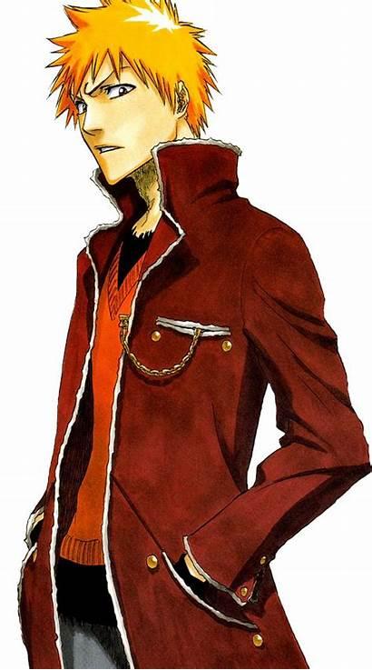 Ichigo Bleach Kurosaki Anime Demon Sick Character
