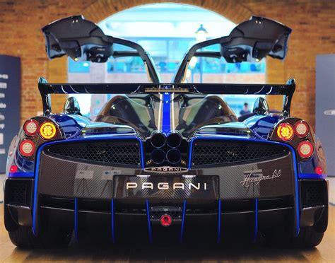 pagani back special pagani huayra bc macchina volante delivered to