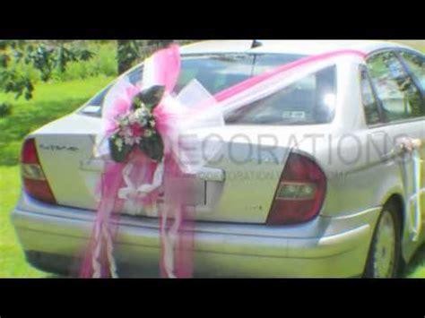 decoration voiture invite mariage decoration voitures de mariage