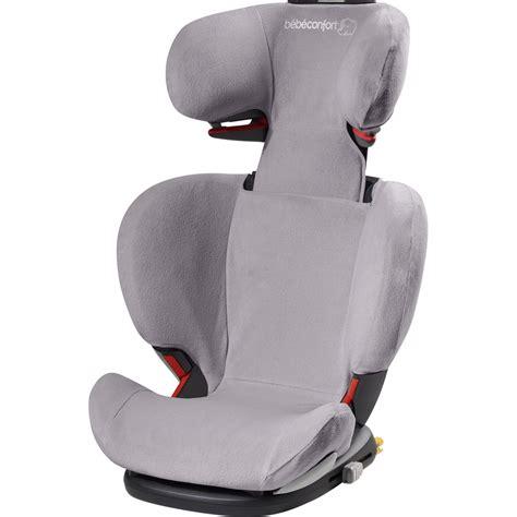 housse eponge pour siège auto rodifix cool grey de bebe