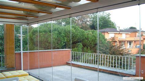 veranda in vetro veranda a pacchetto vetrata temperata system italia
