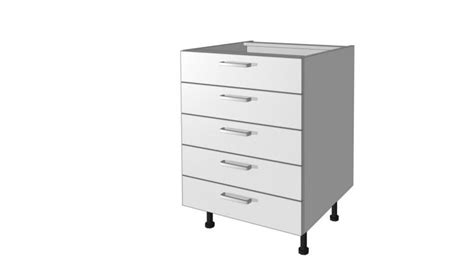 meubles bas 5 tiroirs meuble bas de cuisine pas ch 232 re bas 5 tiroirs
