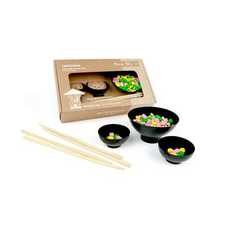 jeu fr cuisine jeu de rapidité en bois cantonese multicolore milaniwood jouet