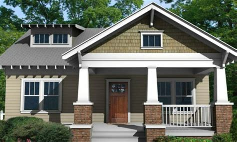 small craftsman bungalow style house plans floor plans
