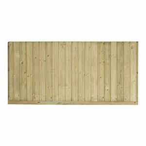 Palissade Anti Bruit : panneau bois anti bruit oza 180 x cm castorama ~ Premium-room.com Idées de Décoration