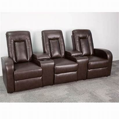 Furniture Bt Gg Flash Leather Brown Recliner