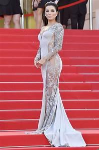 nue sous sa robe transparente eva longoria affole la With sous robe gainante