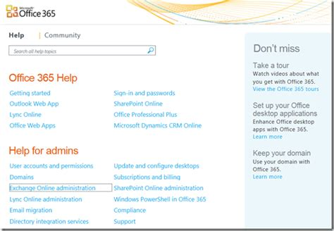 Office 365 Help by Where Can I Go To Find Office 365 Help Documentation