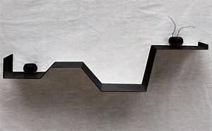 Etagere Murale Noire : etag re murale noire moderne tag re design d co tablette murale ~ Teatrodelosmanantiales.com Idées de Décoration