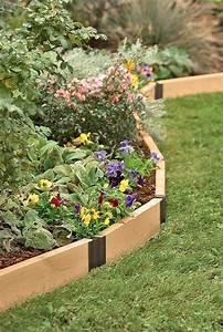 25, Stylish, Garden, Bed, Edging, Ideas
