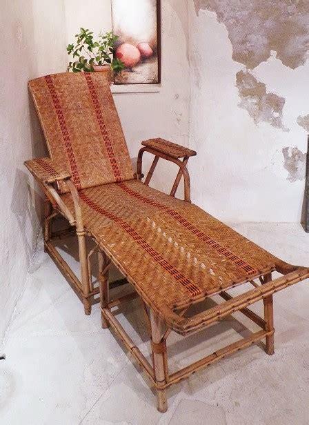chaise longue rotin ancienne chaise longue en rotin ancienne fauteuil rotin transat
