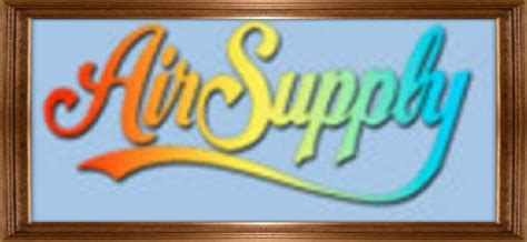 air supply logo in rainbow colores work i like