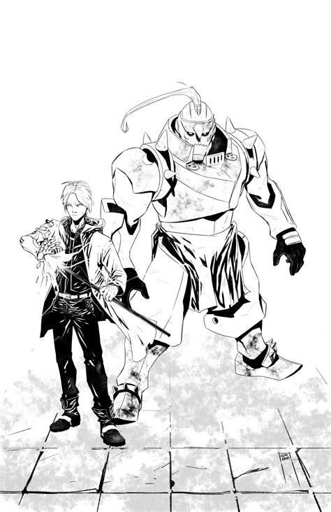 fullmetal alchemist elric brothers cemiroz