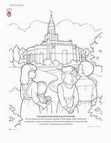 Coloring Temple Salt Lake Sketch Slc Popular Template Coloringhome sketch template