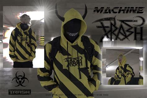 Warning Trash Gang Hoodie Coming Soon Gang Clothes