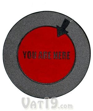 You Are Here Doormat by You Are Here Doormat