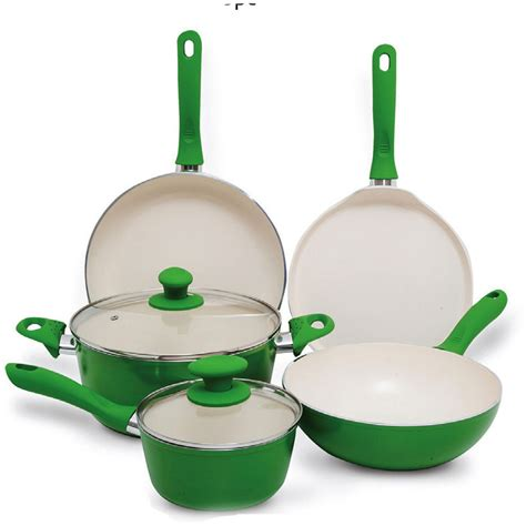 cookware ceramic chefline 7pc clean sets cooking stick non perfect easy uae kitchen qatar coated glass aluminum dubai lulu