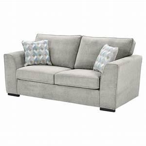 Buy boston sofa bed light grey from our sofa beds range for Light gray sofa bed