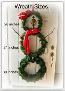 sweet little bluebird diy snowman wreath
