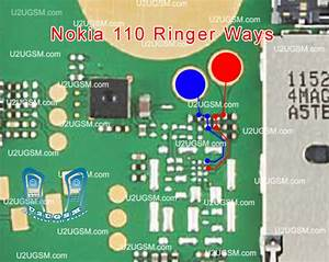Nokia 110 Ringer Problem Jumpers Ways Solution