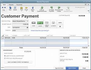receiving payments in quickbooks With quickbooks online invoice payment