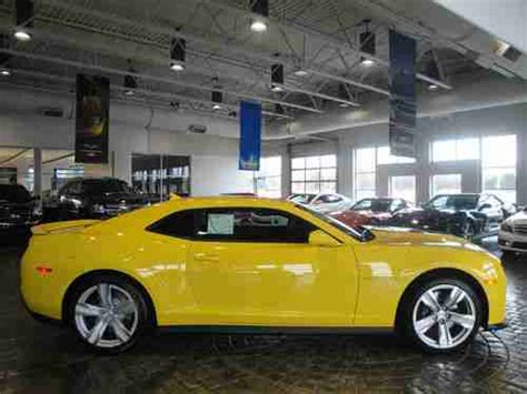 Sell New New 2013 Rally Yellow Supercharged Camaro Zl1