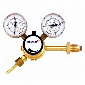 Messer Products - Gas Regulators Single Stage  Co2