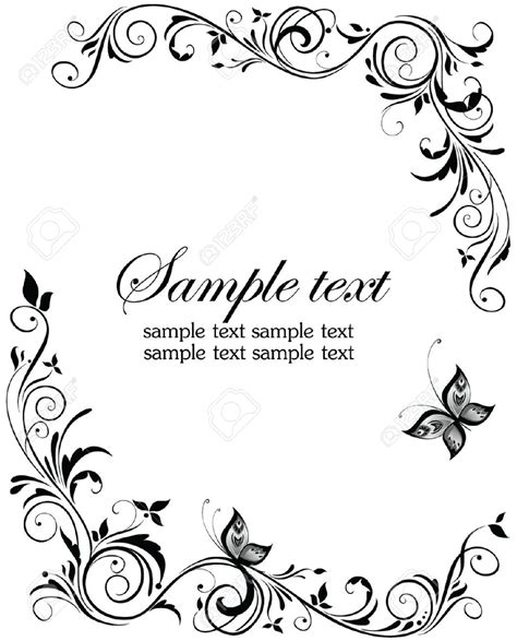 free wedding invitation sles wedding border clipart vector templates clipartfest