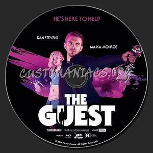 The Guest (2014) blu-ray label - DVD Covers & Labels by ...