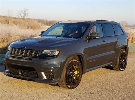 trackhawk jeep cherokee 2018 jeep grand cherokee trackhawk savage on wheels