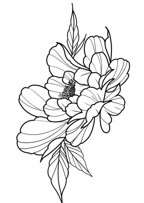 Peony tattoo design | Peonies tattoo, Peony flower tattoos