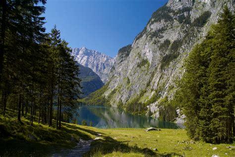 Berg, Berge, Gebirge, Obersee, Bayern, Pausenaugust