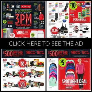 jcpenney black friday ad 2016 deals hours ad scans