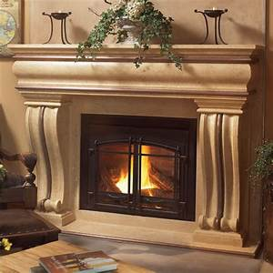 Cast stone mantels roselawnlutheran for Cast stone fireplace mantels