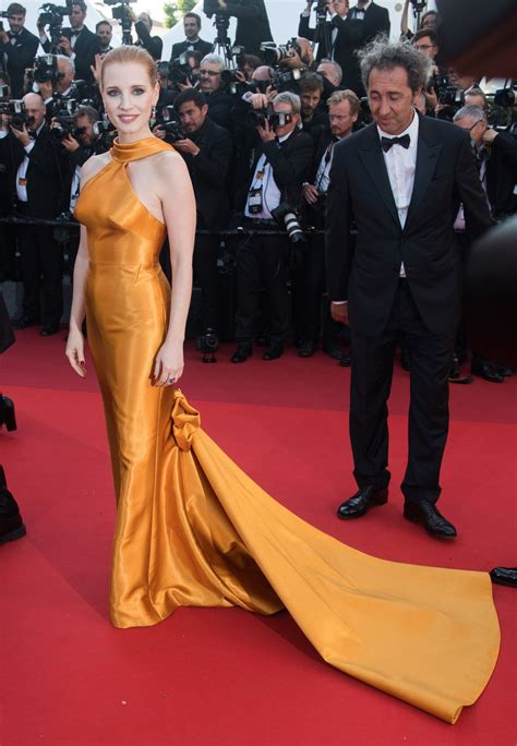 Jessica Chastain | Nice dresses, Cannes red carpet, Cannes ...