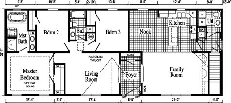 jamestown ranch style modular home pennwest homes model
