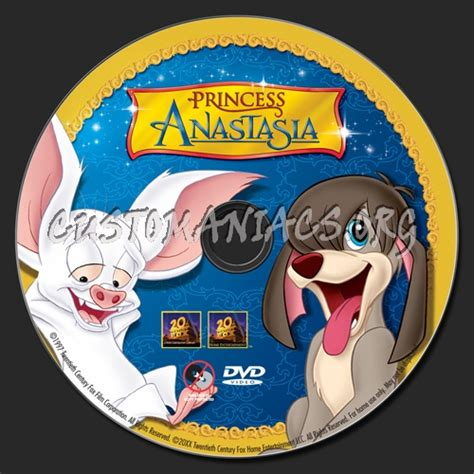 princess anastasia dvd label dvd covers labels