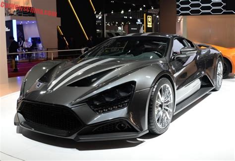Zenvo St1 Price Us by Zenvo St1 Supercar Hits The Shanghai Auto Show In China