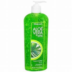 Walgreens Aloe Vera Replenishing Body Gel Walgreens