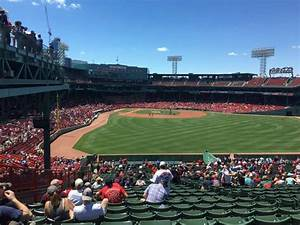 Fenway Park Bleacher Seating Chart Fenway Park Section Bleacher 43 Home Of Boston Red Sox