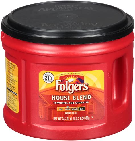 It forms part of the food and beverage division of the j.m. Folgers House Blend Coffee, 24.2 oz