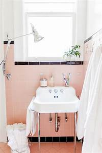 Spectacularly pink bathrooms that bring retro style back for How to make vintage bathroom designs for your homes