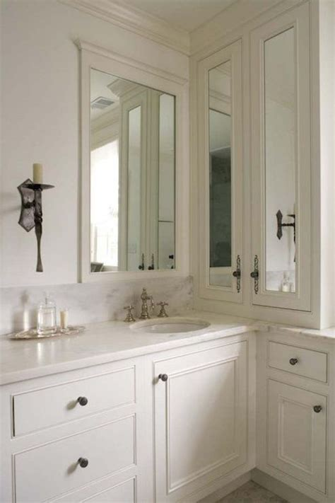 Side Medicine Cabinet  Traditional  Bathroom Twin