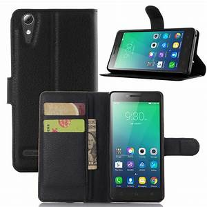 For Lenovo A 6010 Case Luxury Pu Leather Back Cover Case