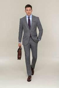 Schwarzer Anzug Blaue Krawatte : grauer full canvas anzug wei es hemd schwarze krawatte und schuhe von boss br utigam ~ Frokenaadalensverden.com Haus und Dekorationen