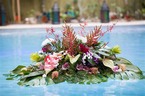 flowers floating   pool  likey floating pool